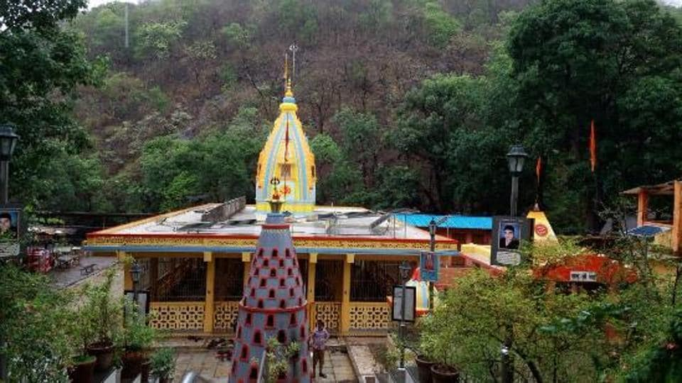A Mahadev temple in the Tungareshwar Bird Sanctuary that attracts many pilgrims.