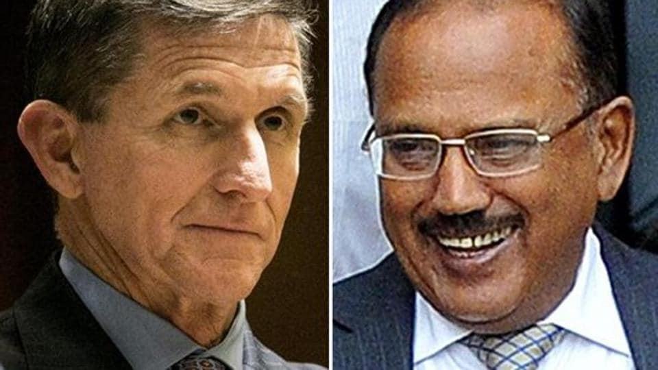 General (retired) Michael Flynn, the American NSA-designate, and India's national security advisor Ajit Doval reportedly met in Washington onDecember 19, 2016.