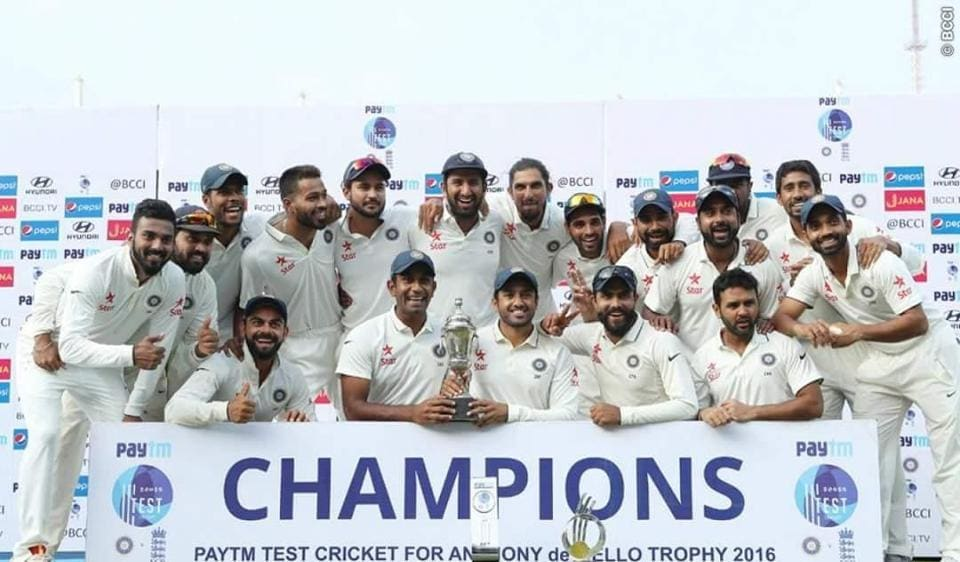 India v England at Chennai,Chennai,5th Test