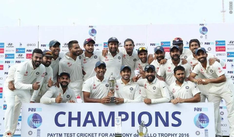 India v England at Chennai