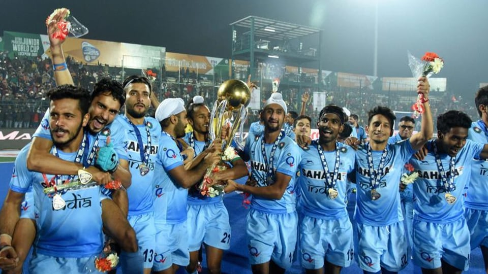 The 16-member Indian Junior  Hockey team has ten Punjabi players.