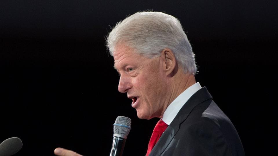 President-elect Donald Trump took on Bill Clinton (pictured) on Tuesday, in a new tweet attack, after the former president questioned his intelligence.