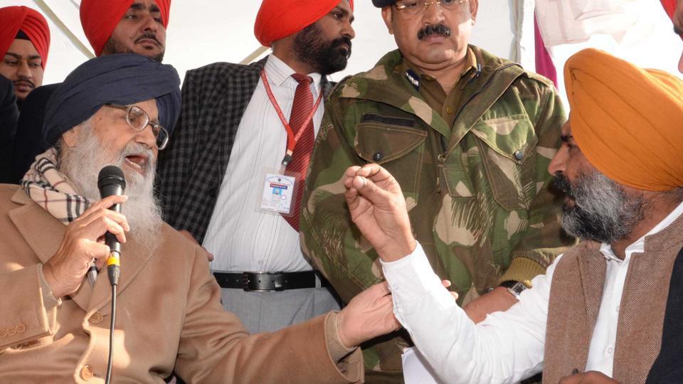 Parkash Singh Badal,Pargat Singh,Punjab Polls