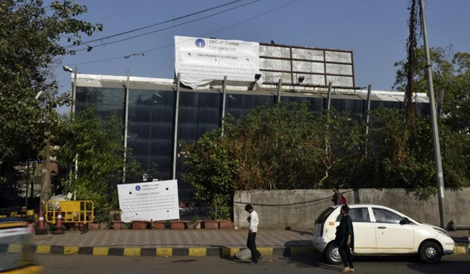 In this March 2016 file photo, Kingfisher house is put up for auction, at Ville Parle, in Mumbai.