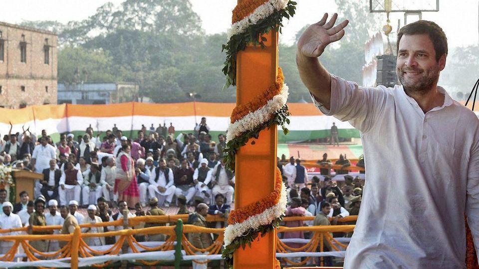 Congress vice-president Rahul Gandhi.