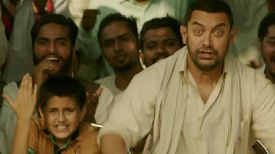 Astill from the Aamir Khan-starrer 'Dangal'.
