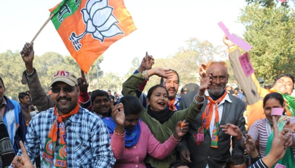 Chandigarh civic polls,Chandigarh,BJP sweeps Chandigarh