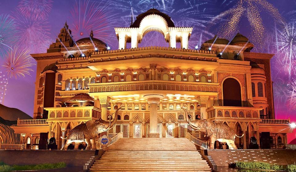 The Kingdom of Dreams, spread over nearly six acres, receives around 700,000 visitors annually.