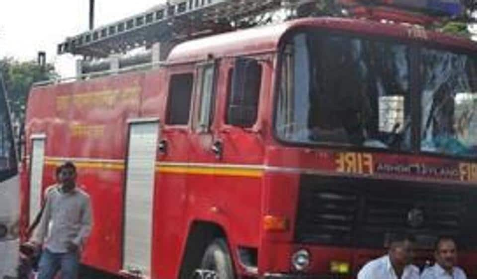 Fourteen fire engines, nine water tankers and two ambulances were at the spot to control the fire.