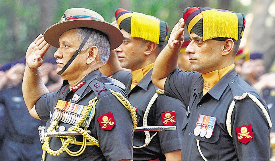 Army chief,Bipin Rawat,chief of defence staff