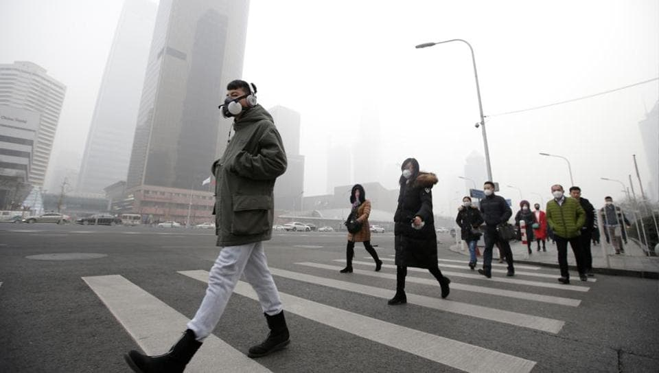 Smog in China,Chinese pollution level,Smog
