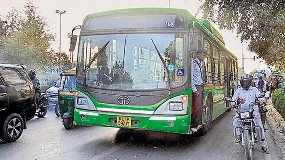 For the whole of January, there will be a flat fare of Rs 5 in non-AC DTC and cluster buses  and Rs 10 for air-conditioned buses.