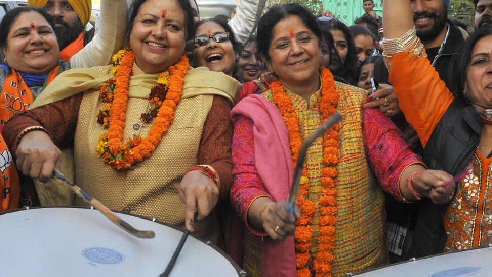 Chandigarh MC polls,9 women,elected