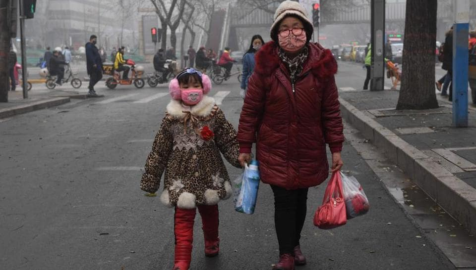 Shijiazhuang, the capital of Hebei province, was one of more than 20 cities which went on red alert Friday evening, triggering an emergency plan to reduce pollution by shutting polluting factories and taking cars off the road, among other measures.