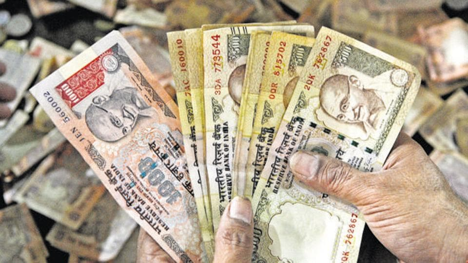 On Monday, the RBI had said deposits of above Rs 5,000 in banned banknotes can be made only once till December 30, the latest in a series of banking restrictions after the government recalled high-value bills.