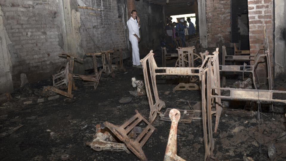 Around 4.30am on November 11, a short circuit triggered a massive fire at an unauthorised garment factory running in a residential area of Shaheed Nagar.