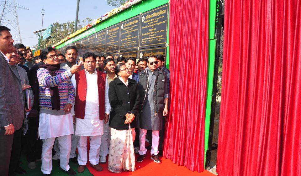 Rajya Sabha MP and Samajwadi Party general secretary Ramgopal Yadav on Wednesday inaugurated and laid the foundation of 51 infrastructure projects in Ghaziabad and neighbouring Hapur.
