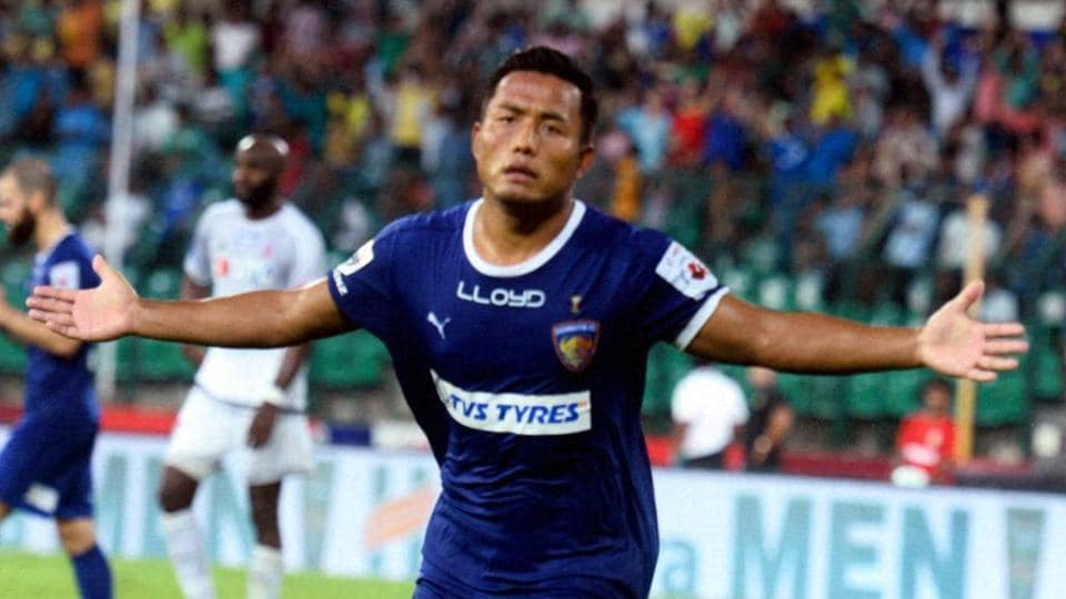 Jeje Lalpekhlua, who plays for Chennaiyin FC in the ISL, won the 2014-15 I-League with Mohun Bagan, the 2015 ISL crown (December 2015)and days later, helped India win the SAFF Championship in January 2016.
