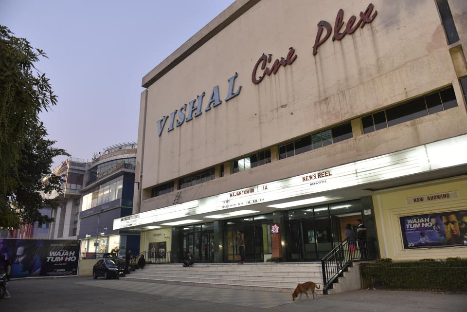 Vishal Cinema in Rajouri Garden. Till the 1970s, Delhi had over 65 single-screen theatres. The numbers have shrunk drastically and around 25 cinema halls have shut shop.