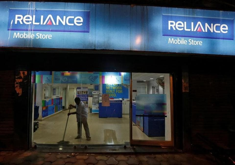 Reliance Communications,Brookfield,for stake sale