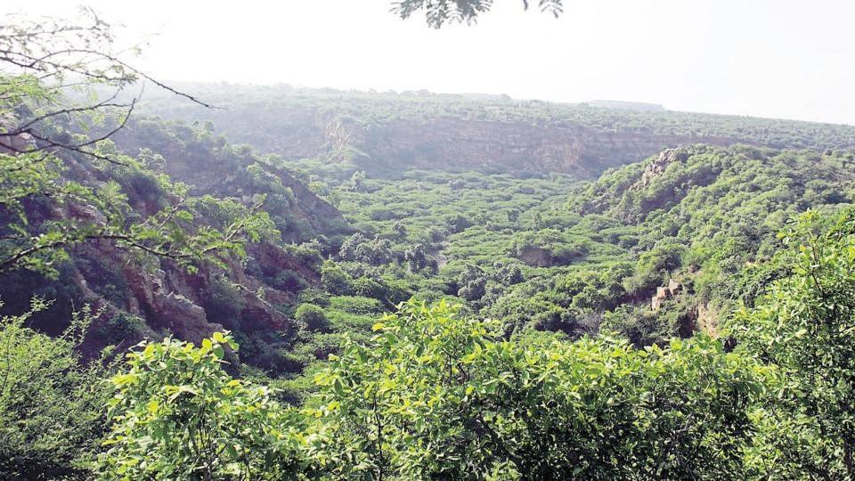 Aravallis,Mining in Aravallis,Gurgaon