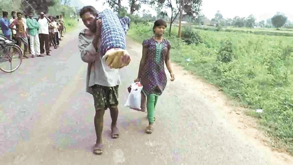The Naveen Patnaik government faced embarrassing moments as the story of Dana Majhi, a poor tribal who had to walk over 10 km carrying his wife's body on his shoulder from a government hospital in backward Kalahandi district after being denied a hearse in August, made international news.