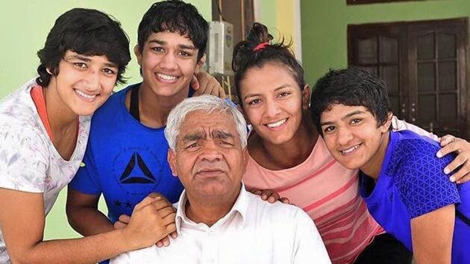 Mahavir Singh Phogat produced a string of women champion wrestlers staring with his eldest daughter, Geeta Phogat