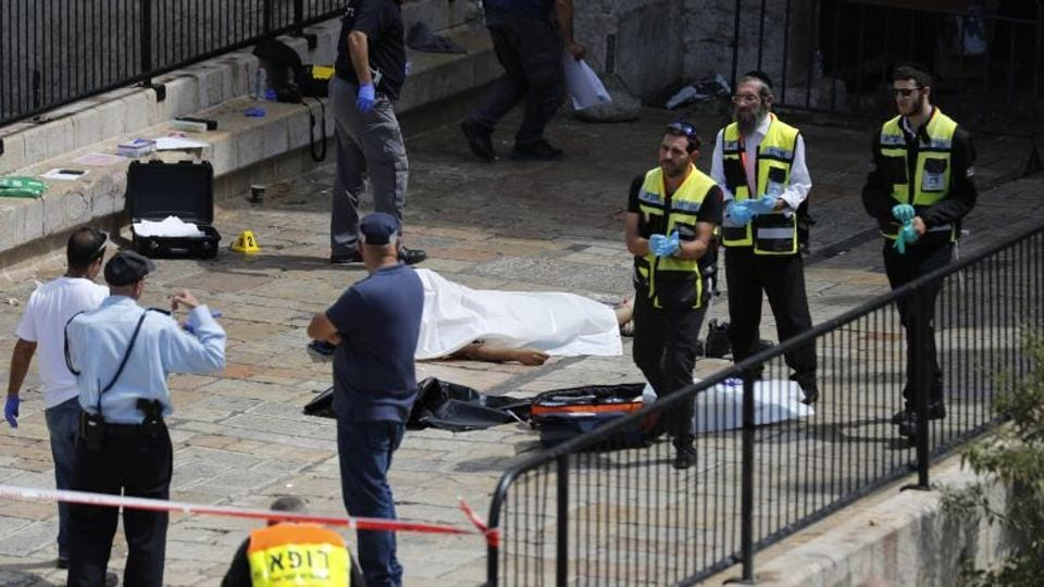 A Palestinian man was killed during clashes with Israeli soldiers overnight as they arrived to demolish the home of the alleged perpetrator of a deadly attack on Israelis.