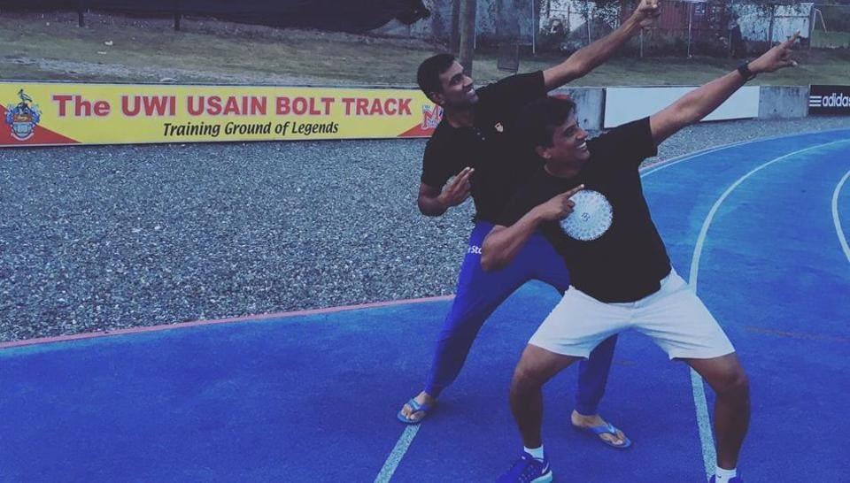 Ravichandra Ashwin,Usain Bolt,India vs West Indies