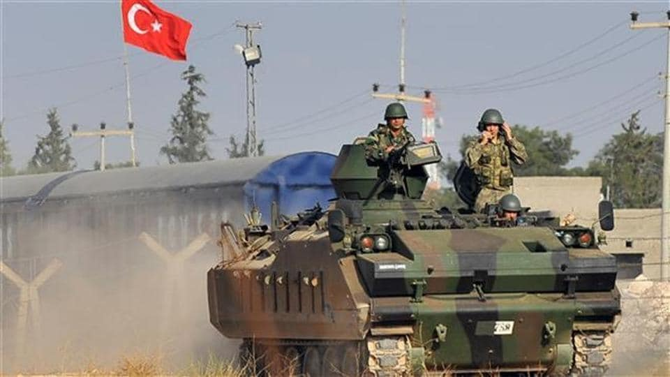 Fourteen Turkish soldiers were killed and 33 wounded in clashes with Islamic State (IS) jihadists in Syria on Wednesda