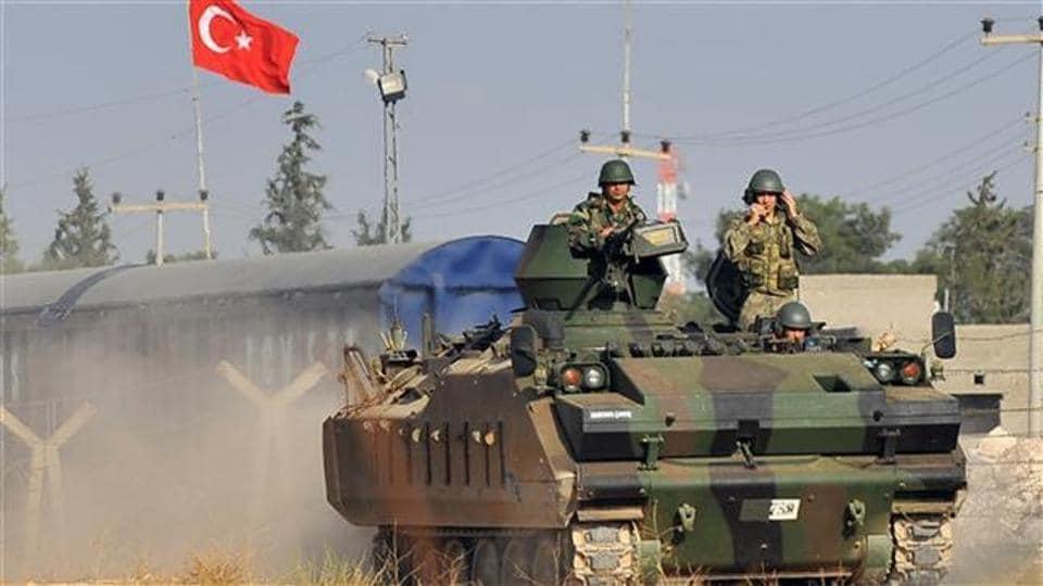 Turkey military,ISIS,Syria