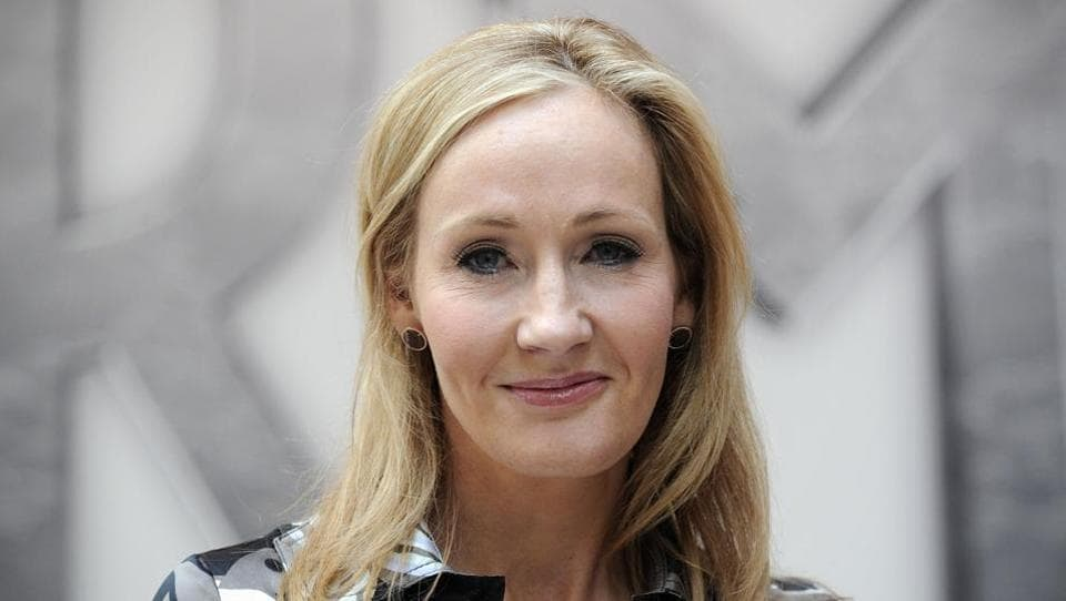British author JK Rowling.