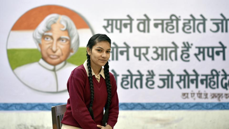 Bindiya Vishwakarma, a Class 12 student, hopes for a world where girls do not have to live in fear and worry about their safety.