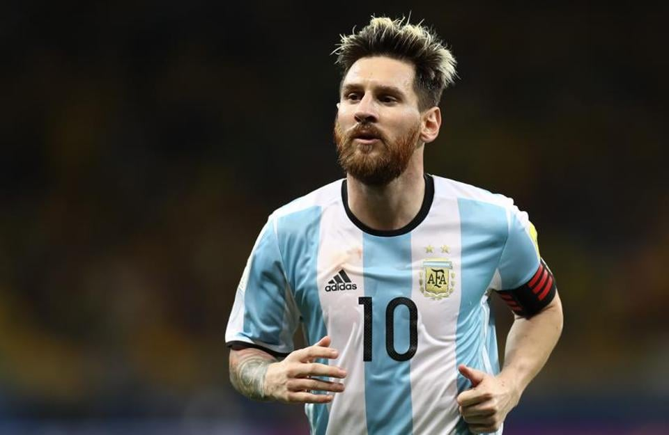 Lionel Messi's beaten Copa America finalists Argentina end the year top of FIFA's world rankings.