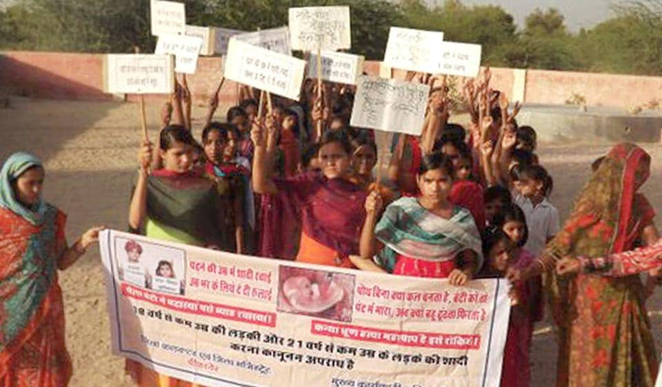 Rajasthan news,Child marriage,Ladli Samman campaign