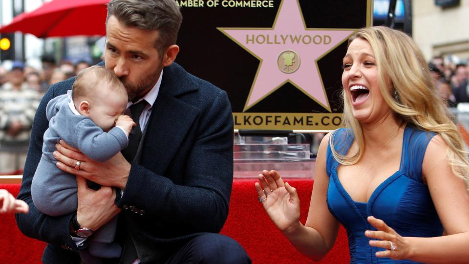 Blake Lively,Ryan Reynolds,Daughter