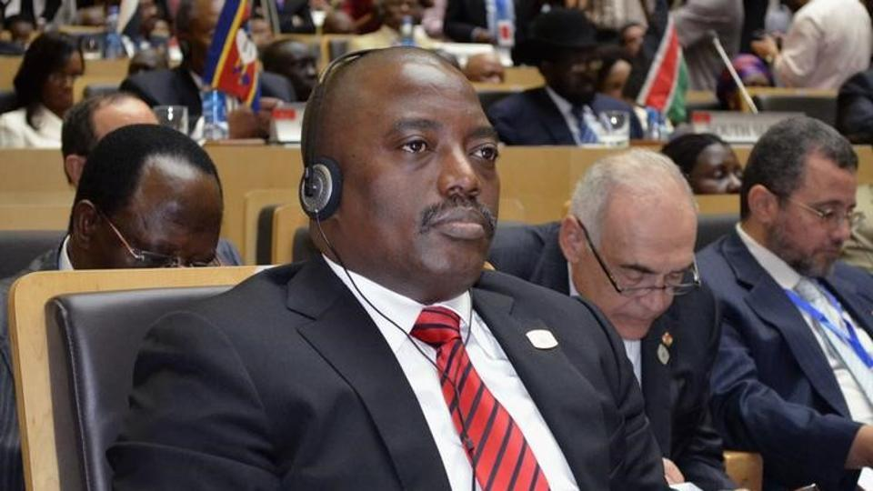 Anger has grown as Democratic Republic of Congo's President Joseph Kabila , in power since 2001, remains in office after his constitutional mandate ended Monday.