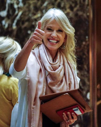 Kellyanne Conway,Donald Trump,counsellor to the president