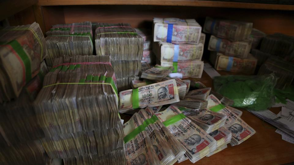 The I-T department has seized cash and jewellery worth over Rs 505 crore during the same period even as the new currency seized is valued at more than Rs 93 crore.