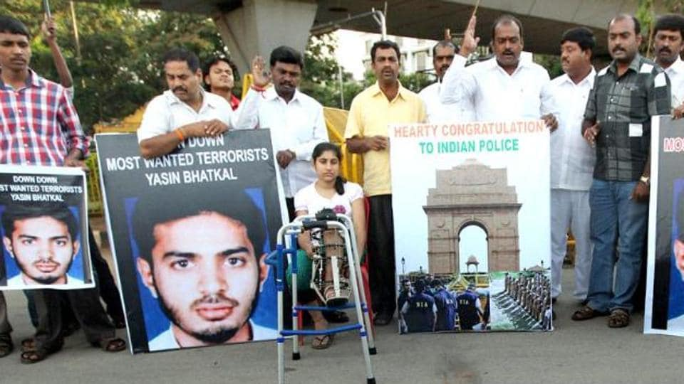 The National Investigation Agency's (NIA) special court in Hyderabad has awarded the death penalty to Indian Mujahideen co-founder Yasin Bhatkal and four other terrorists in connection with the 2013 twin blasts inHyderabad.