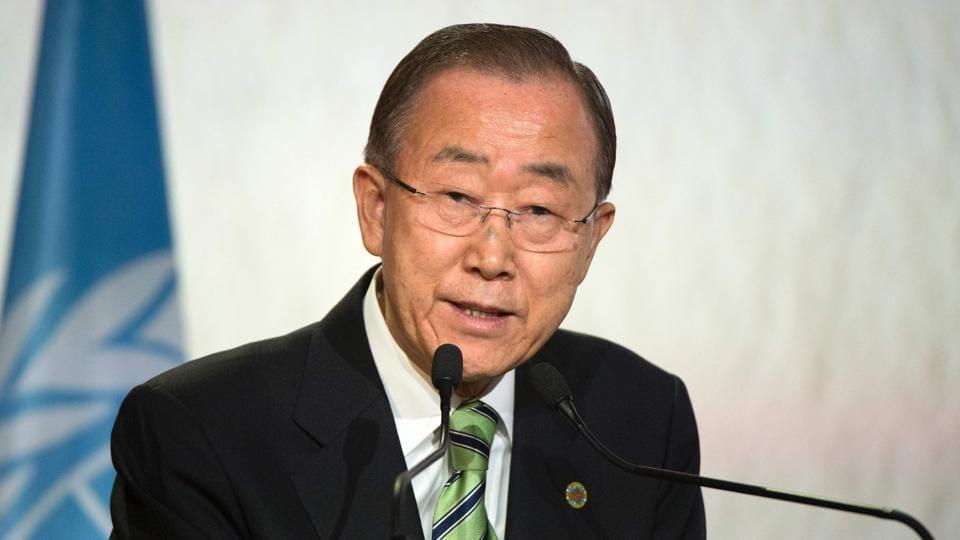 Ban Ki-moon,UN chief,India