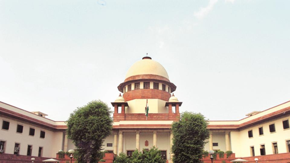 Supreme Court, in New Delhi on Tuesday. Photograph: Sunil Saxena/HT 18.09.2007 October2009