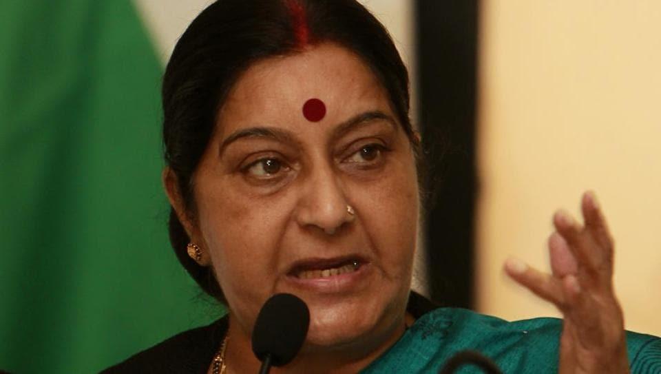Sushma Swaraj,Norway,Child abuse