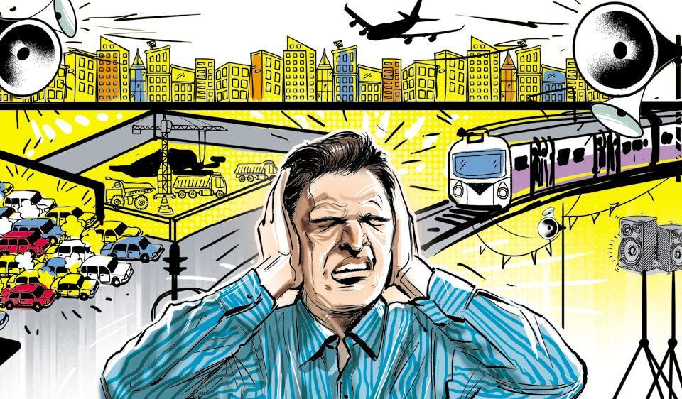 Noise pollution,Mumbai,CPCB