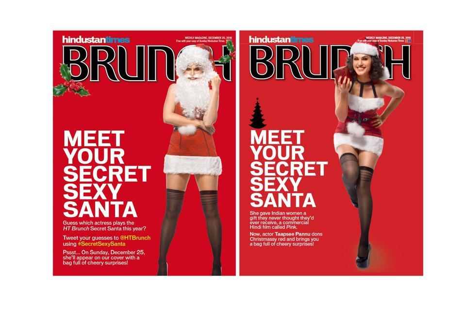 Sexy Santa,Secret Santa,Taapsee Pannu