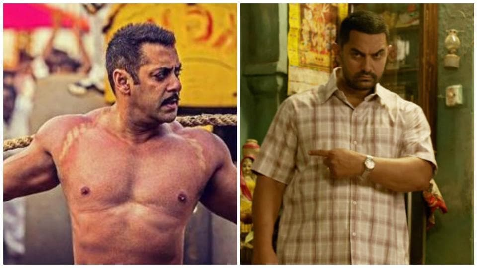 Sultan and Dangal are both based on the theme of wrestling.