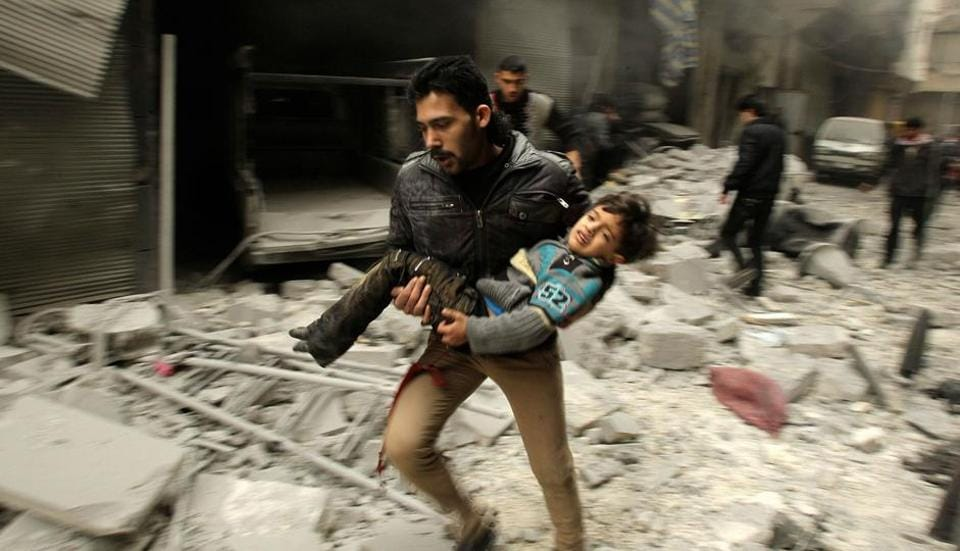 The Syrian Observatory for Human Rights said last week it had recorded the deaths of 312,001 of which 16,000 were children.