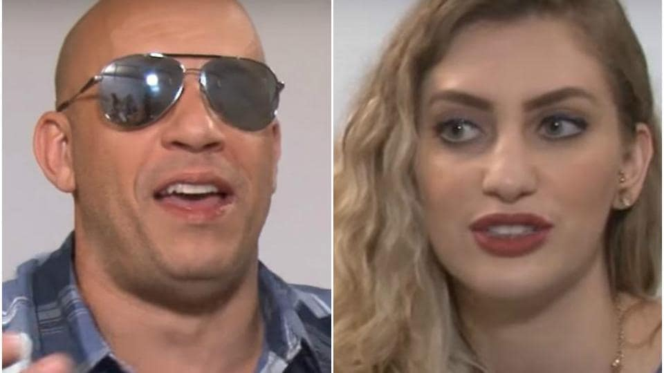 Vin Diesel was recently being interviewed by a Brazilian reporter Carol Moreira for his upcoming film, xXx: The Return of Xander Cage and things got awkward soon.