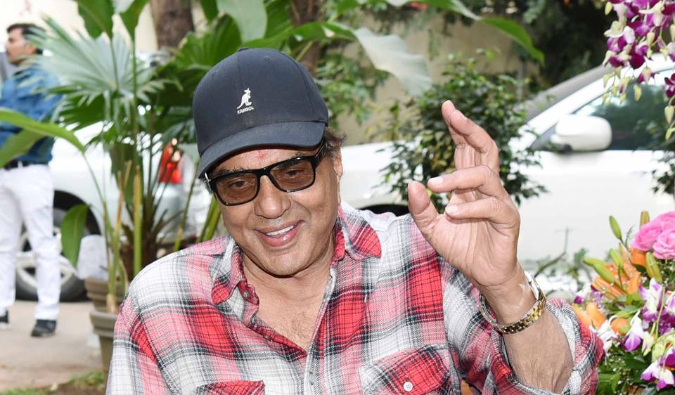 Actor Dharmendra, who was hospitalised, is fine now;  says his family gets more worried about his health than him.
