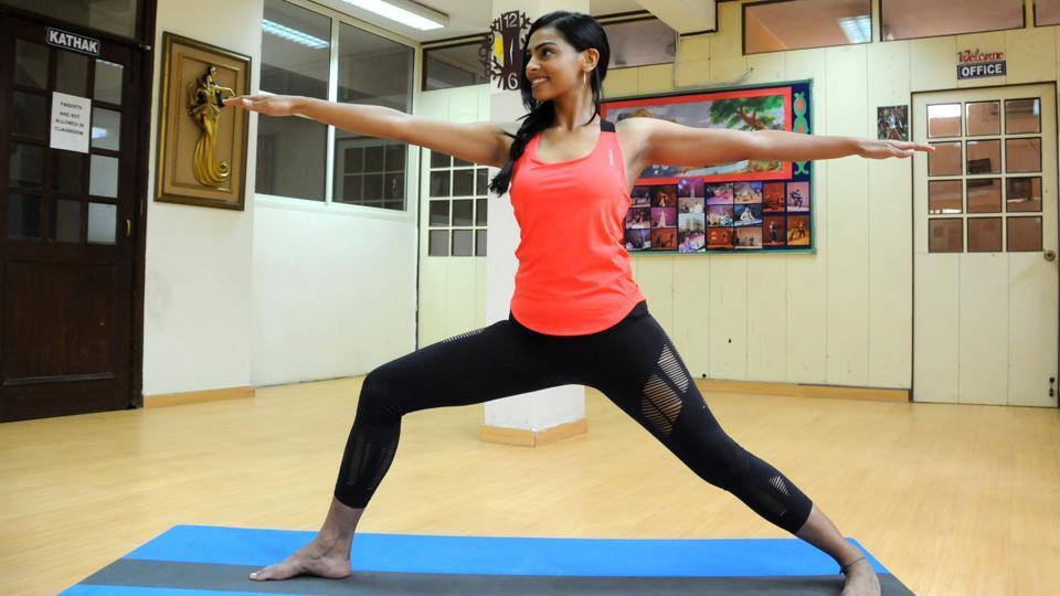Yoga,Camel pose,Seated forward bend pose
